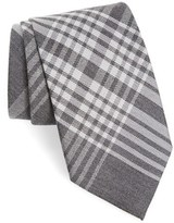 Burberry Men's Check Silk & Cashmere Tie