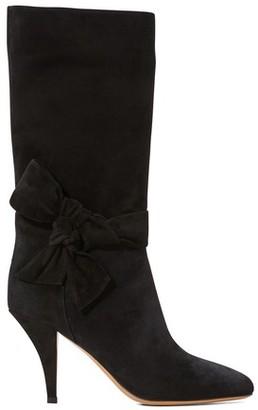 Valentino Gavarani sueded leather boots