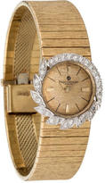Baume & Mercier 14K Diamond Watch