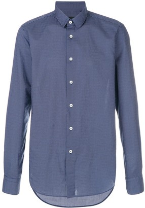 Dell'oglio long sleeved button up shirt