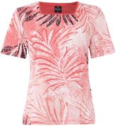 Tigi Short Sleeve Floral Print Top