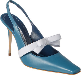 Manolo Blahnik Draucalia 105 Leather Pump