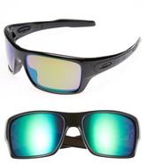 Oakley Men's Turbine H2O 65Mm Polarized Sunglasses - Black