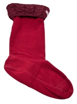 Hunter Chunky cable knit sock
