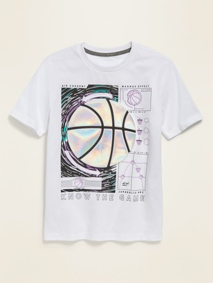 Old Navy Visual-Effects Graphic Short-Sleeve Tee for Boys