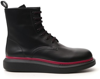 Alexander McQueen Chunky Sole Boots