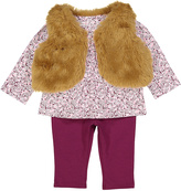 Vitamins Baby Maroon Vest Set - Infant
