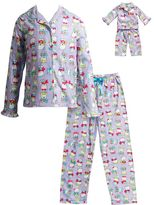 Dollie & Me Girls 4-14 Polar Bear Pajama Set