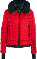 Moncler Vonne Quilted Shell Down Jacket - Brick
