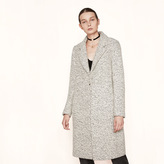 Maje Long bouclé coat