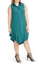 Rachel Roy Plus Size Women's Combo Shirtdress