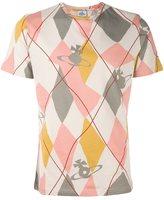 Vivienne Westwood Man argyle print T-shirt