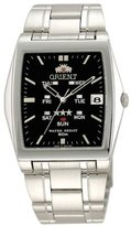 Orient #BPMAA003B Men's Black Dial Multi Position Calendar Self Winding Automatic Watch