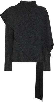 LVIR Muffler layered jumper
