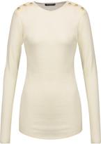 Balmain Wool and cashmere-blend sweater