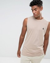 Criminal Damage Maverick Sleeveless T-Shirt Singlet