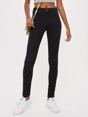 Topshop Petite Leigh Jeans - Black