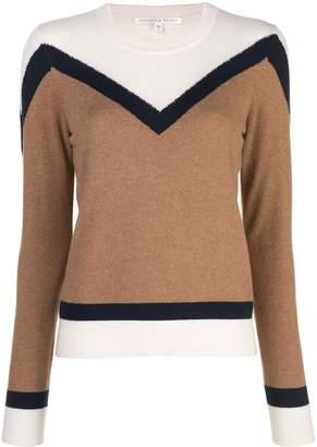 Veronica Beard colour block knitted jumper