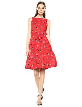 Anne Klein Women's Cotton FIT & Flare Dress