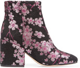 Sam Edelman Taye floral-brocade ankle boots
