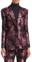 Saks Fifth Avenue COLLECTION Brocade Blazer