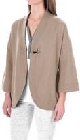 Carole Hochman Pajama Shirt - Open Front, Long Sleeve (For Women)