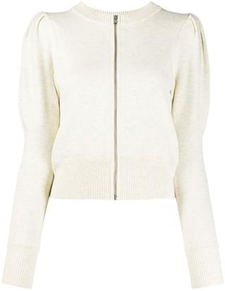 Etoile Isabel Marant Long-Sleeve Zip-Up Cardigan