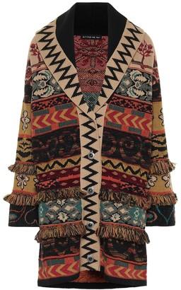 Etro Oversized wool-blend cardigan
