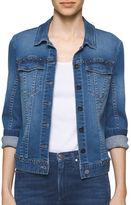 Calvin Klein Jeans Studded Denim Trucker Jacket