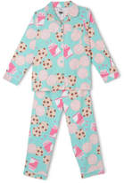 NEW Tilii Essentials Flanelette Pyjama Set Mint