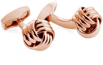 Tateossian Men's Ribbed Knot Cufflinks