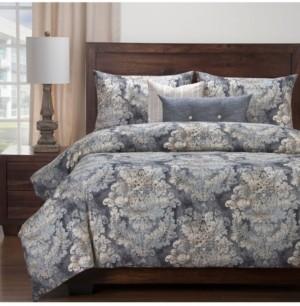 Siscovers Cindersmoke 6 Piece Queen Luxury Duvet Set Bedding