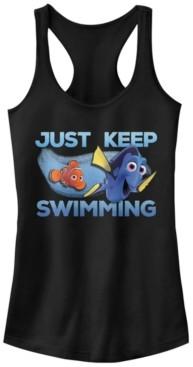 Disney Pixar Juniors' Finding Dory Just Swimming Ideal Racerback Tank Top