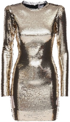 RED Valentino Sequined Jersey Mini Dress