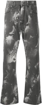 Misbhv Manga flared jeans