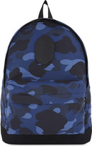A Bathing Ape Camouflage print backpack