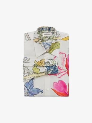 Alexander McQueen Deconstructed Floral Shirt