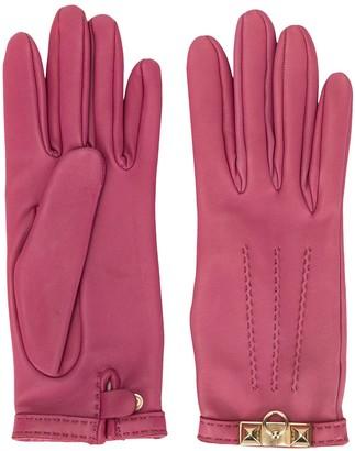 Hermes Pre-Owned Door Knocker Plaque Gloves