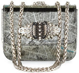 Christian Louboutin Sweet Charity Baby Shoulder Bag, Silver