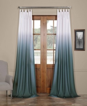 "Exclusive Fabrics & Furnishings Ombre Semi Sheer 50"" x 84"" Curtain Panel"