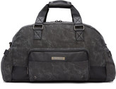 Diesel Black Gear Duffle Bag