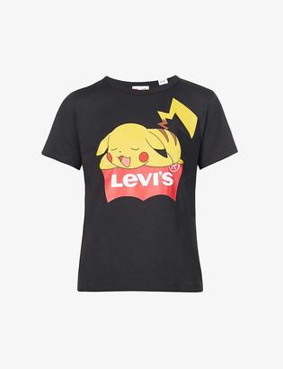 Levi's Levis x Pokemon Pikachu-print cotton-jersey T-shirt