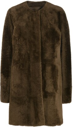 Drome Mid-Length Fur Coat