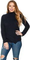 Element Burn Mock Neck Sweater