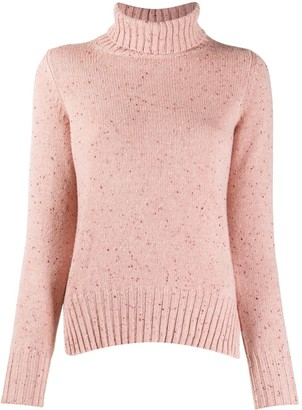 Fedeli Roll-Neck Fleck Sweater