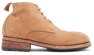 Guidi E Rosellini - Tumbled-leather Boots - Tan