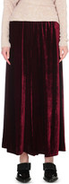 Etro Wide-leg velvet culottes