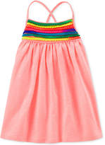 Carter's Pom Pom-Trim Dress, Little & Big Girls