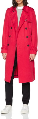 Tommy Hilfiger Women's Shawn Trench Trench Long Sleeve Coat