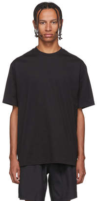Y-3 Y 3 Black Toketa Print T-Shirt
